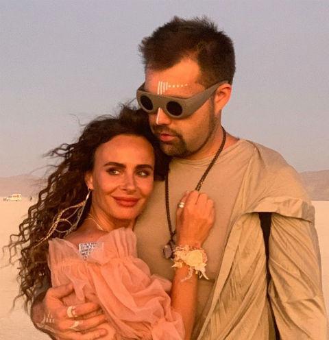 Саша Зверева с супругом