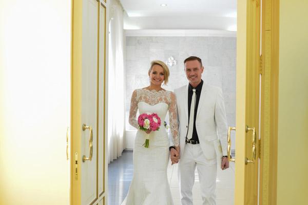 Теперь уже - муж и жена