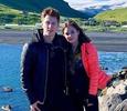 Юлия Липницкая улетела с бойфрендом в Исландию