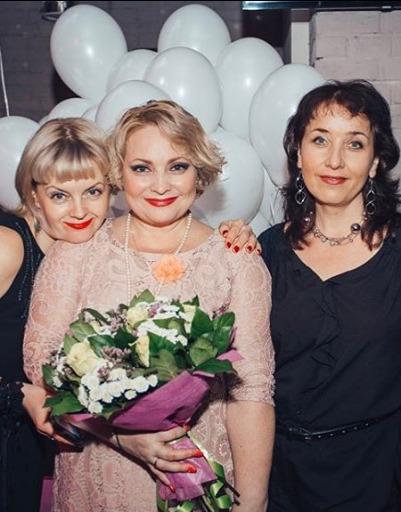 Светлана Пермякова с подругами