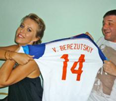 Футболисты российской сборной и звезды поддержали Сергея Белоголовцева