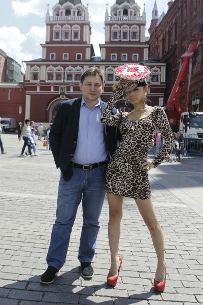 Голливудская звезда с продюсером картины «Максимальный удар» Александром Изотовым