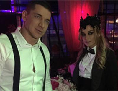 Ксения Бородина отметила День рождения с друзьями и любимым