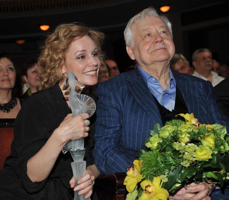Марина Зудина и Олег Табаков