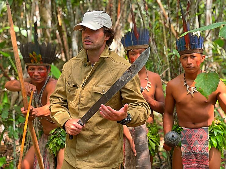 Два месяца режиссер работал над новым тревел-проектом в Амазонии