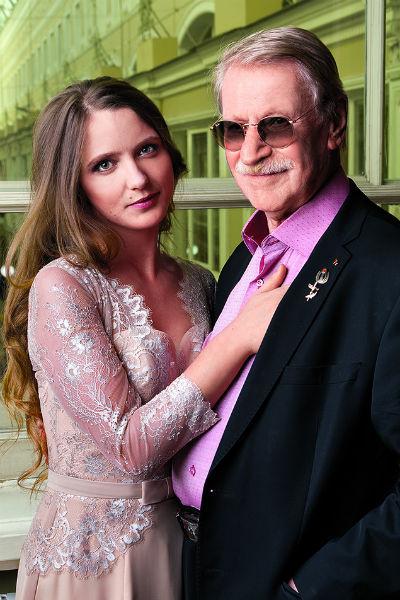 Иван Краско и супруга Наталья