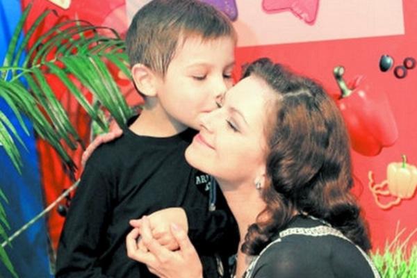В браке у Натальи Юнниковой родился сын Ролан