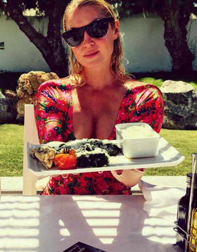 Завтрак на вилле