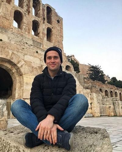 Александр Кержаков в Акрополе