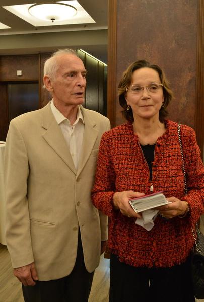 Супруга Ирина Купченко поддерживает любимого мужа
