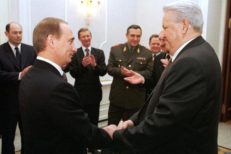 Владимир Путин стал преемником Бориса Ельцина