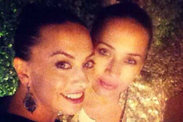 Жанна Фриске и ее сестра Наталья