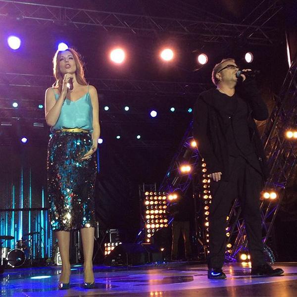 Наталья и Владимир исполнили дуэтом свою новую песню