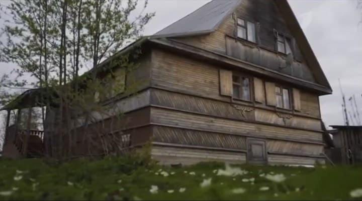Раньше дом Цыплаковой выглядел так...