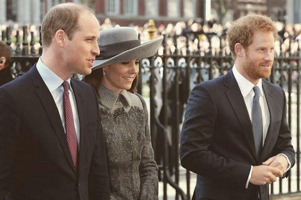 Старший сын Дианы Уильям женился на Кейт Миддлтон, а младший Гарри еще холост