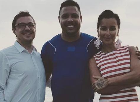 Тина Канделаки отдыхает в компании легендарного футболиста Роналдо
