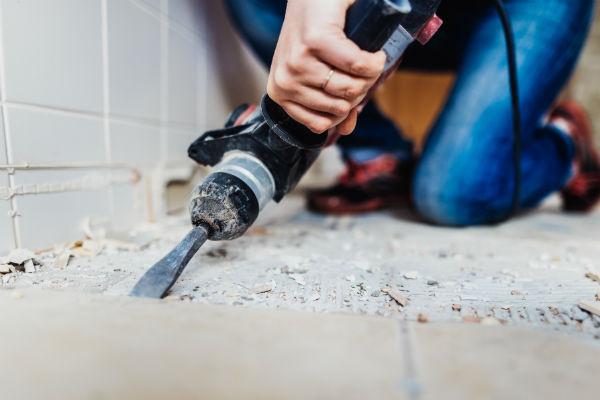 Во время строительных работ используйте маску или респиратор