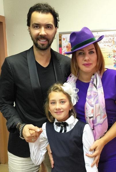 Денис Клявер, Ева Польна и Эвелин