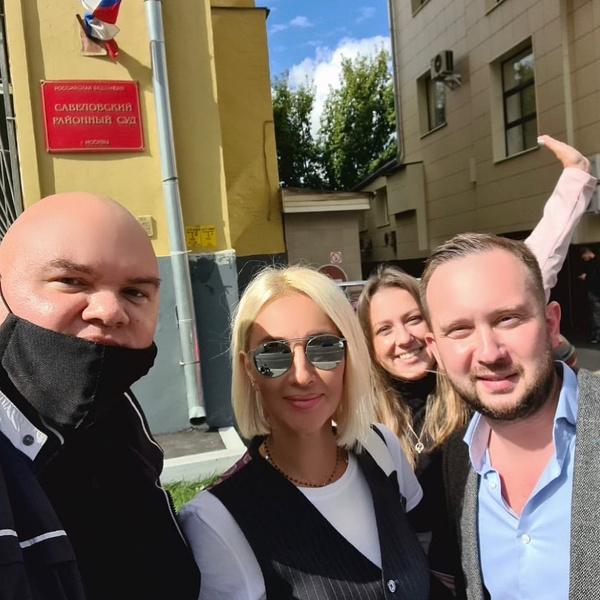 Лера Кудрявцева выиграла первый суд против Андрея Разина