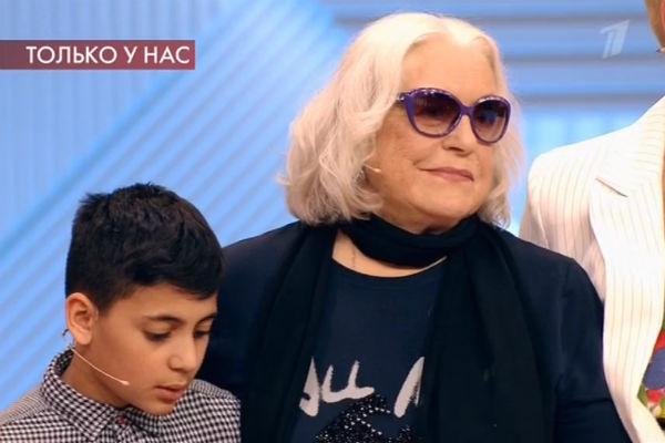 Лидия Федосеева-Шукшина впервые увидела внука