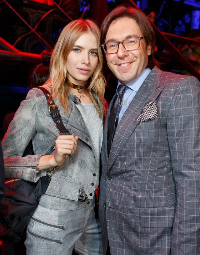 Андрей Малахов и Лена Перминова