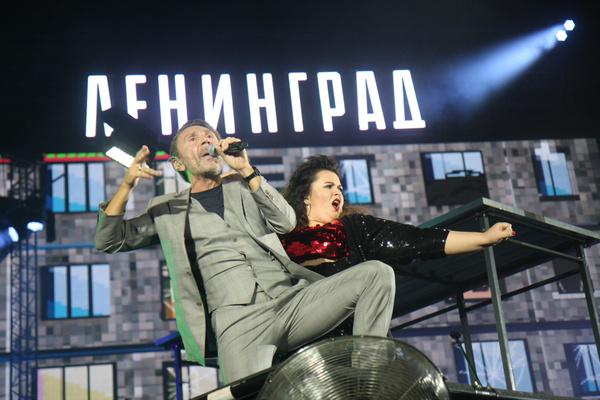 Сергей сильно переживал перед выступлением