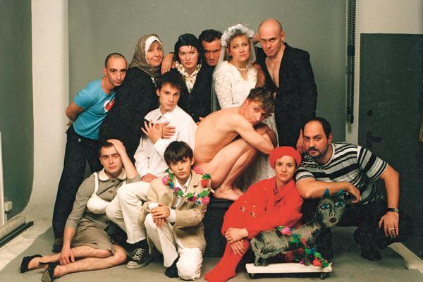 Гастрольный тур спектакля «Пластилин», Лондон, конец 90-х
