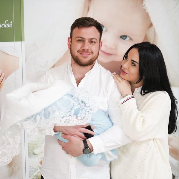 Валерий Блюменкранц с женой с Дэвидом