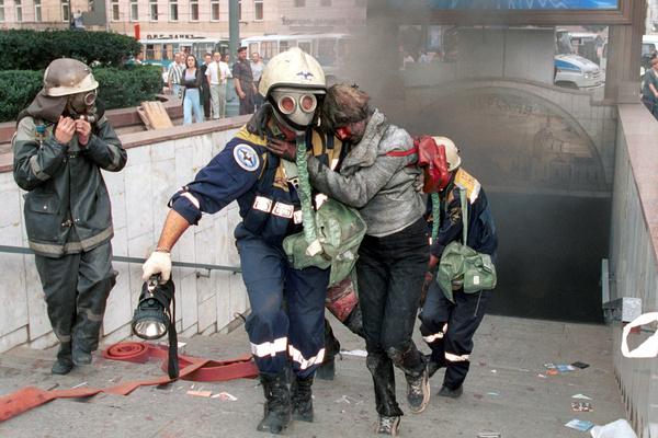 8 августа 2000-го подземный переход под Пушкинской площадью превратился в место кровавой бойни