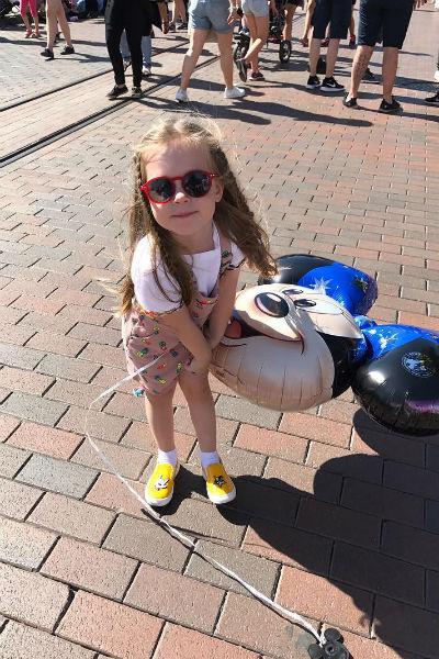 Дочери Кристины Асмус и Гарика Харламова в январе исполнилось три года