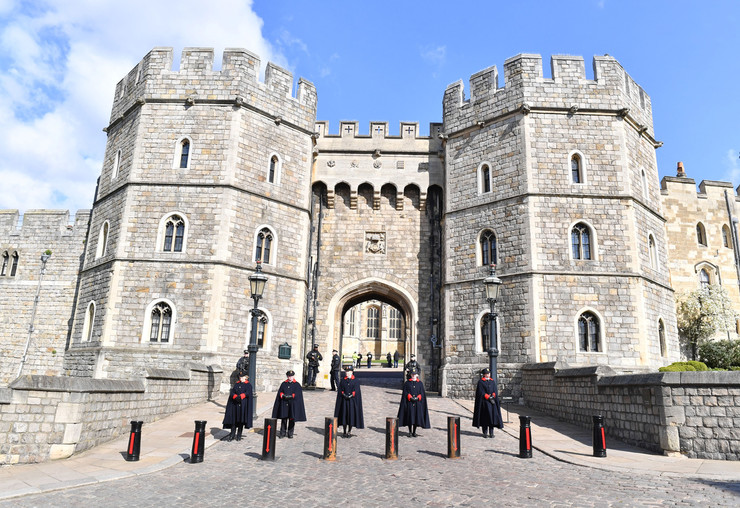 Церемония пройдет на территории Виндзорского замка