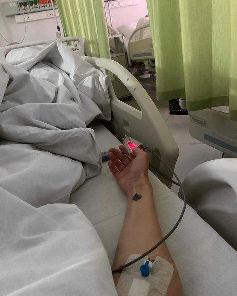 Водонаева сильно переживает из-за госпитализации