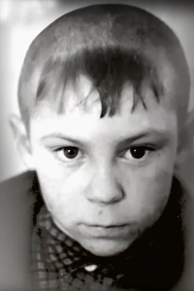 Владимир Березин в детстве