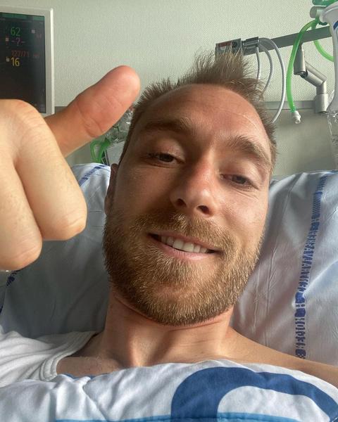 Футболист выписался из больницы
