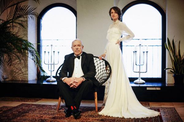 Первые фото с тайной свадьбы Андрея Макаревича