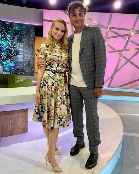 Александр Лазарев-младший рассказал о беременности Татьяны в эфире НТВ