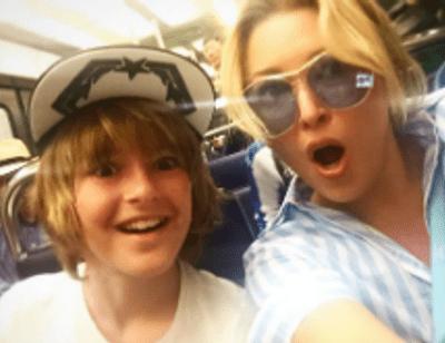 Ирина Дубцова устроила сыну «модные» каникулы во Франции
