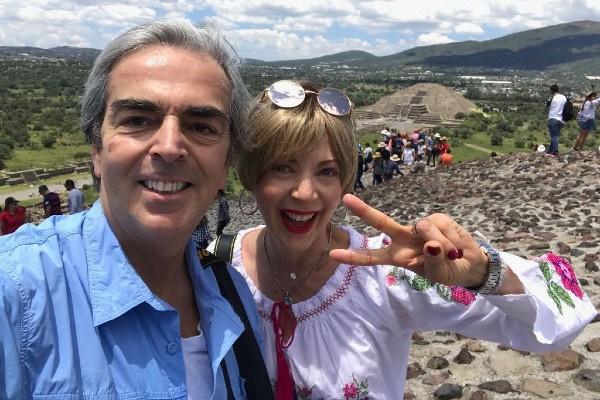 В последние годы Эдит Гонсалес активно путешествовала с мужем