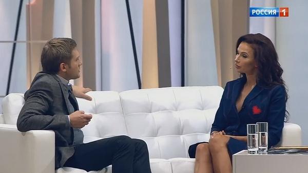 Эвелина Бледанс стала героиней программы Бориса Корчевникова