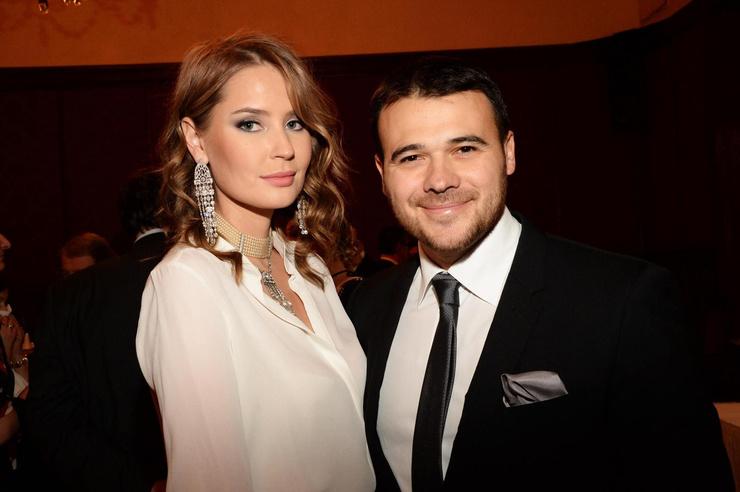 Эмин Агаларов с бывшей женой