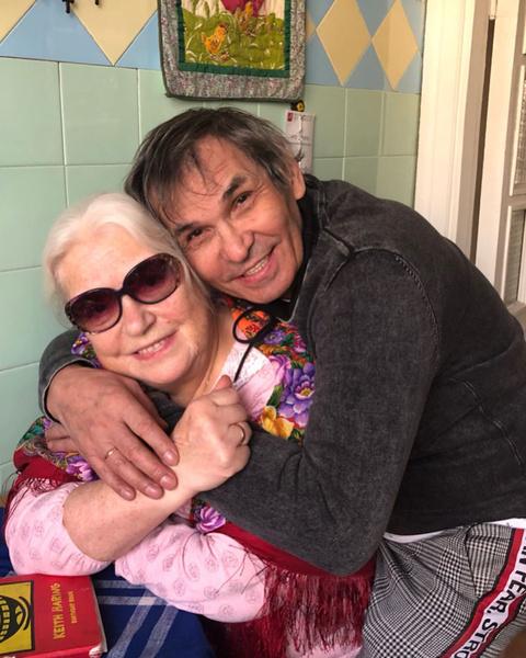 Лидия Федосеева-Шукшина и Бари Алибасов
