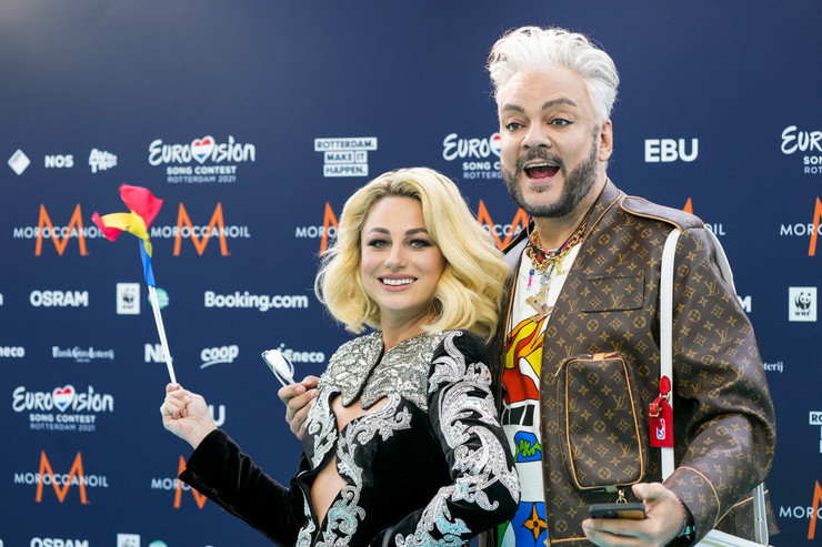 Филипп Киркоров поддерживает на конкурсе Наталию Гордиенко
