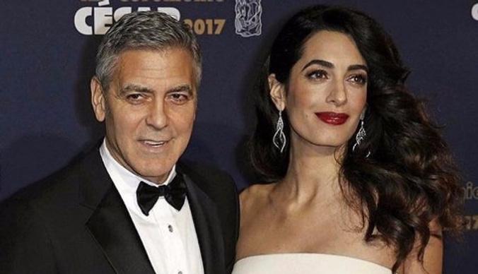 Беременная жена Джорджа Клуни отказывается с ним спать