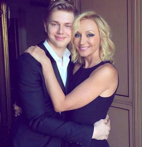 Кристина Орбакайте с сыном Дени Байсаровым
