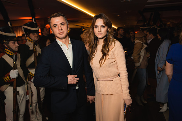 Игорь Петренко с женой