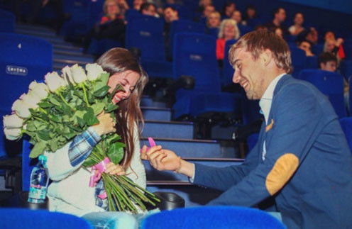 Антон Шипулин долго готовил сюрприз для любимой