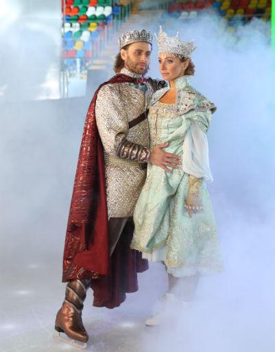 Петр Чернышев и Татьяна Навка играют главных героев постановки