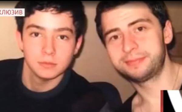 Внуки Ирины Федоровой: справа - Федоров-младший, слева - Лапидот.