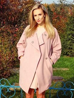 Ольга Гажиенко теперь сама будет шить пальто