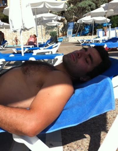 Сиестой на пляже Гурам Баблишвили отметил свой день рождения